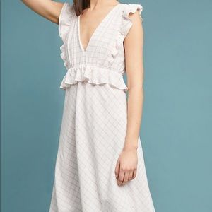 Anthropologie Ruffled Dress 💖